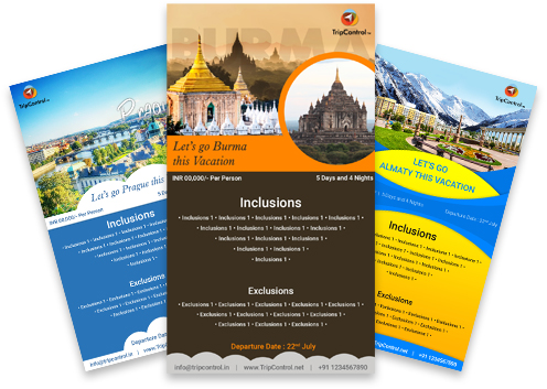 Travel Promotional Cards